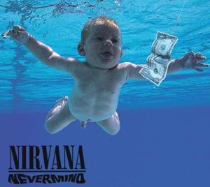 Álbum Nevermind. Álbum de maior sucesso de Nirvana